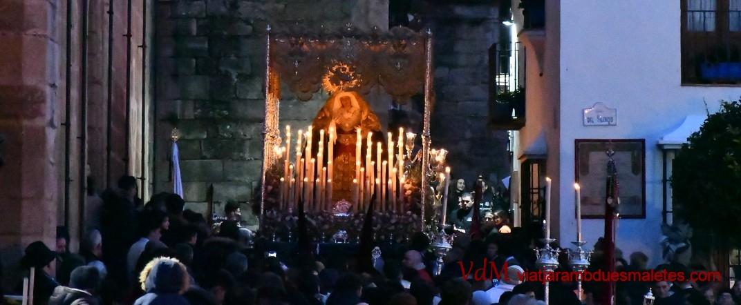 Verge de l'Amargor a la processó de la Setmana Santa de Ronda