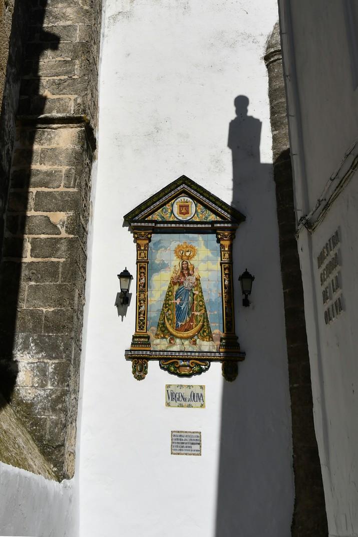 Verge de l'Oliva de l'església del Diví Salvador de Vejer de la Frontera