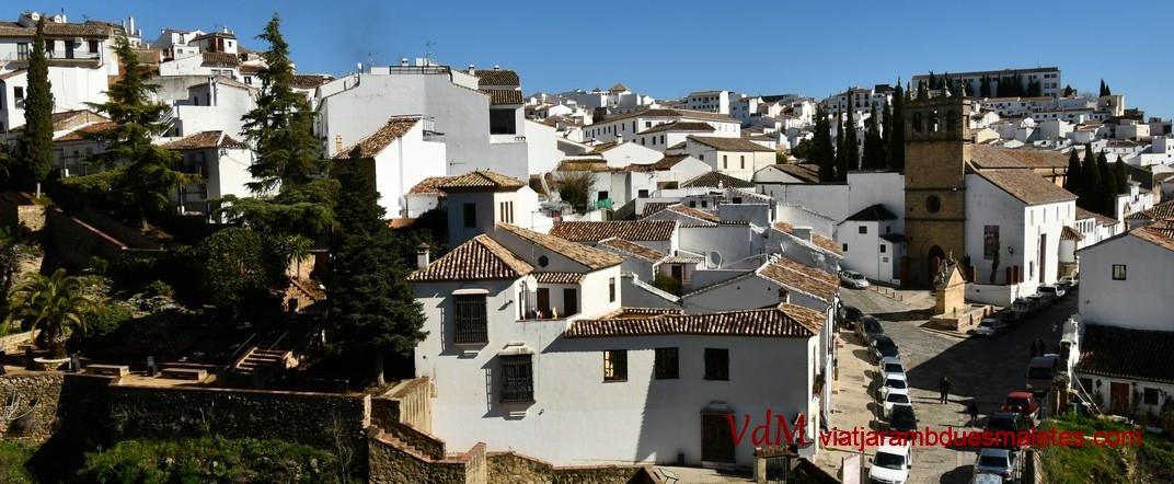 Vista del barri del Pare Jesús de Ronda