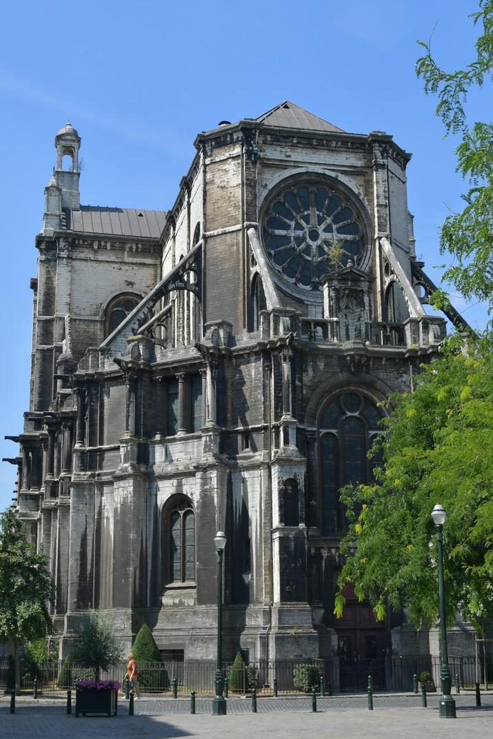 Absis de l'església de Santa Caterina de Brussel·les