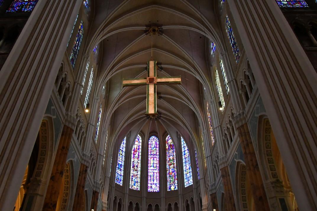 Absis superior de la Catedral de Chartres