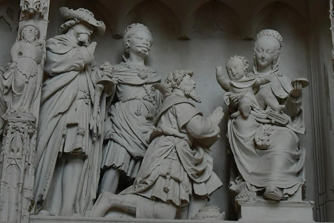 Adoració dels Reis Mags del Cor de la Catedral de Chartres