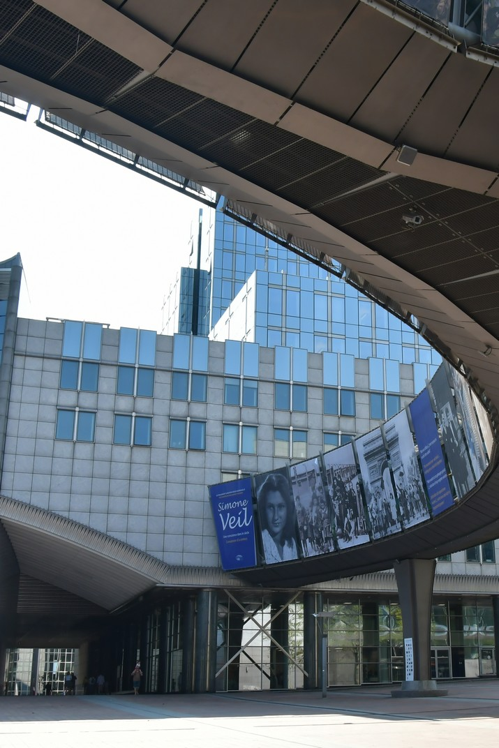 Àgora Simone Veil del Parlament Europeu de Brussel·les