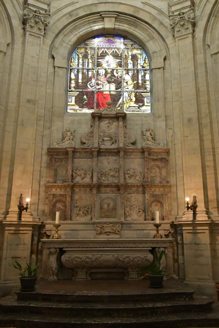 Altar de la capella Maes de la Catedral de Brussel·les