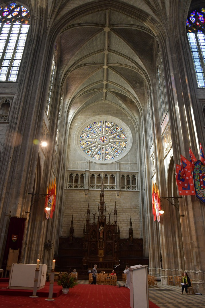 Altar del Sagrat Cor del Transsepte de la Catedral d'Orleans