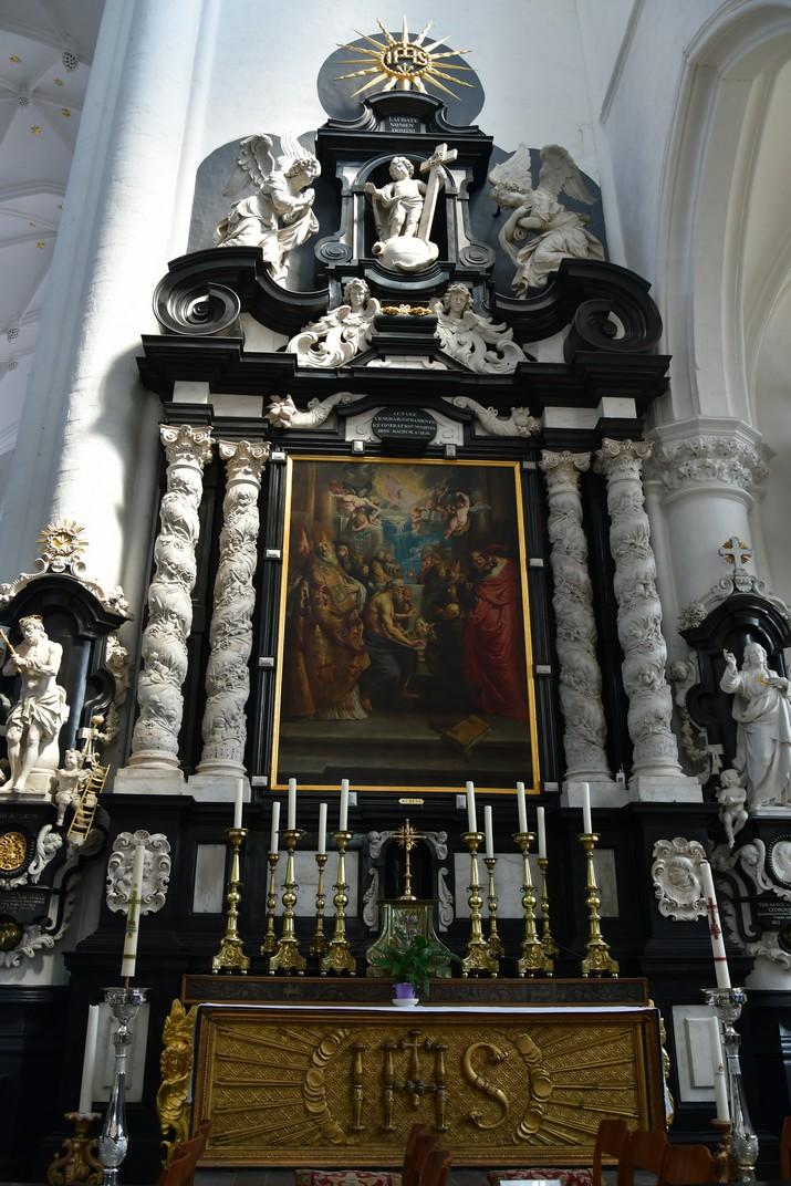 Altar del Sant Sagrament de l'església de Sant Pau d'Anvers