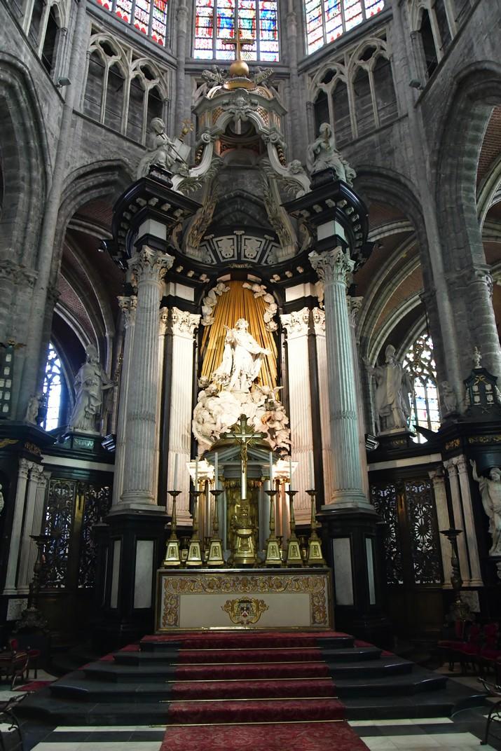 Altar major de la Catedral de Sant Bavó de Gant