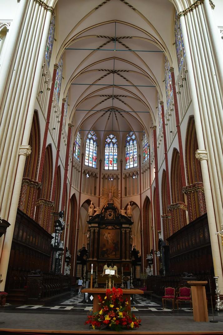 Altar major de la Catedral de Sant Salvador de Bruges