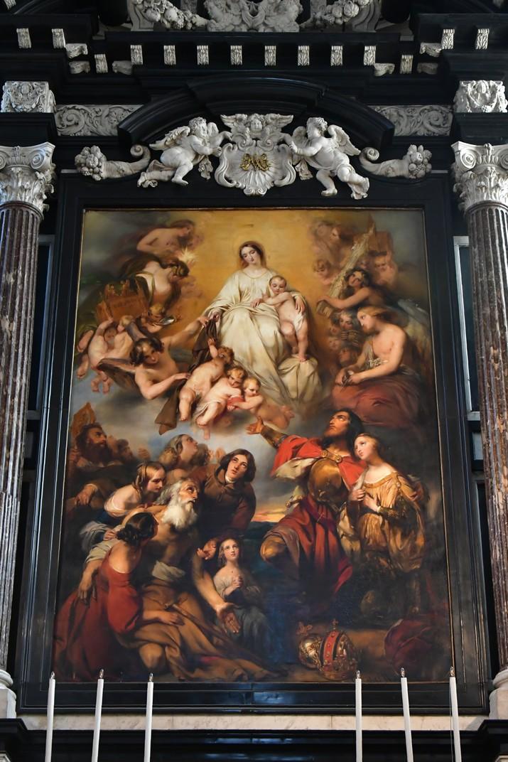 Altar major de l'església de Sant Carles Borromeo d'Anvers