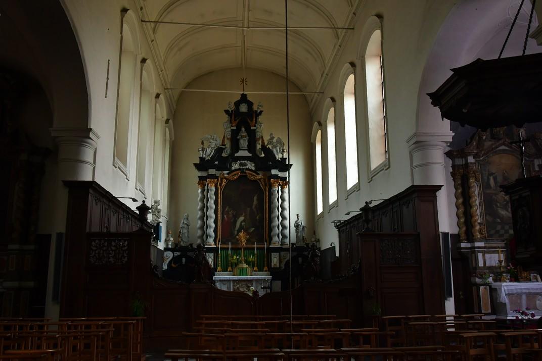 Altar major de l'església de Santa Isabel del Beateri de Bruges