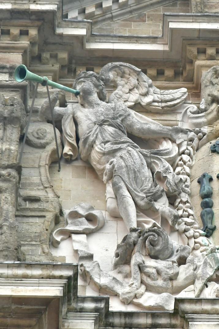 Àngel de l'església de Sant Miquel de Lovaina