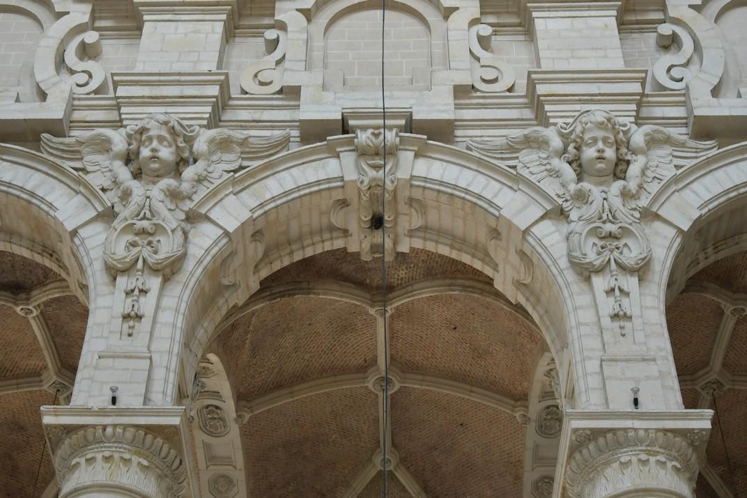 Angelots de l'església de Joan Baptista del Beateri de Brussel·les
