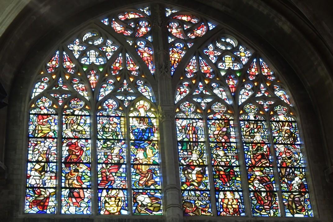 Arbre de Jessé de l'església de Nostra Senyora de les Victòries del Sablon de Brussel·les