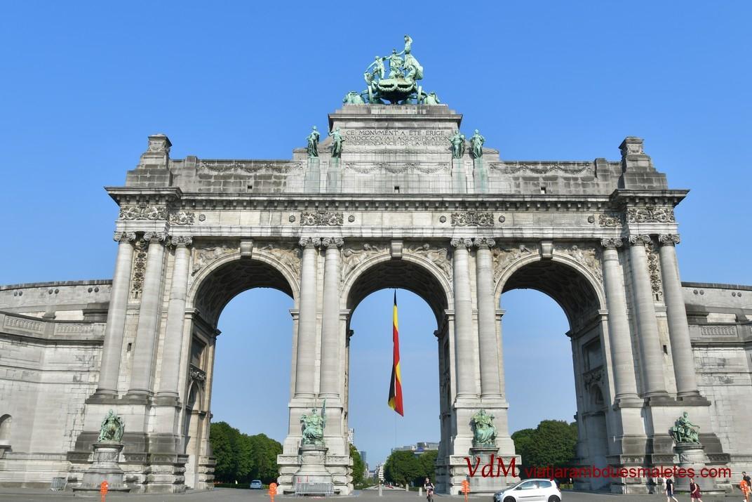 Arc de Triomf del Parc del Cinquantenari de Brussel·les