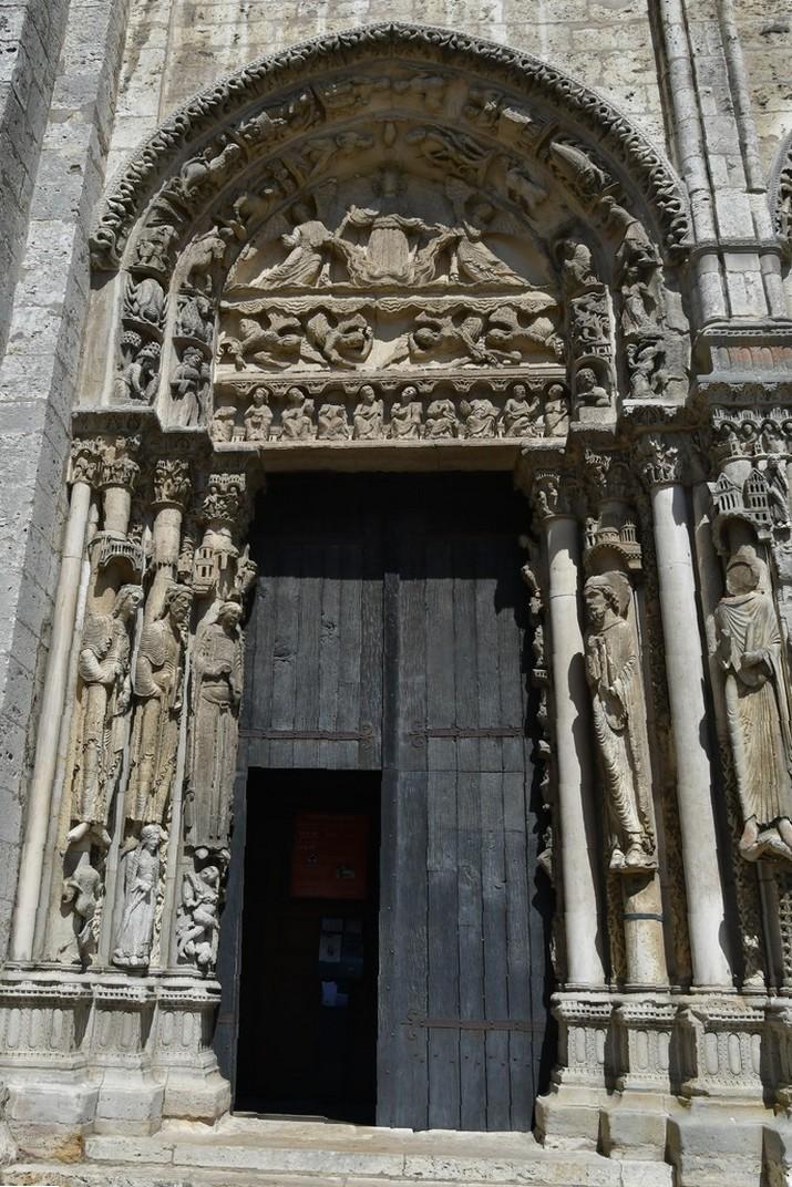 Ascensió de Crist del Pòrtic Reial de la Catedral de Chartres