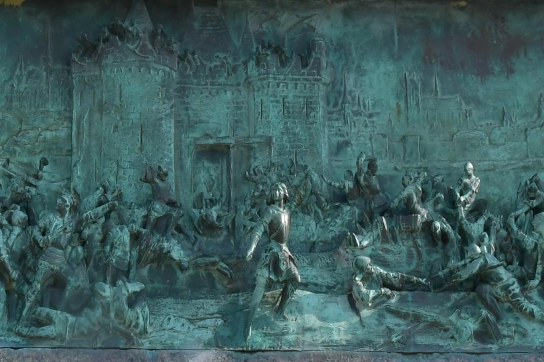 Baixos Relleus de Joana d'Arc de la plaça del Martroi d'Orleans