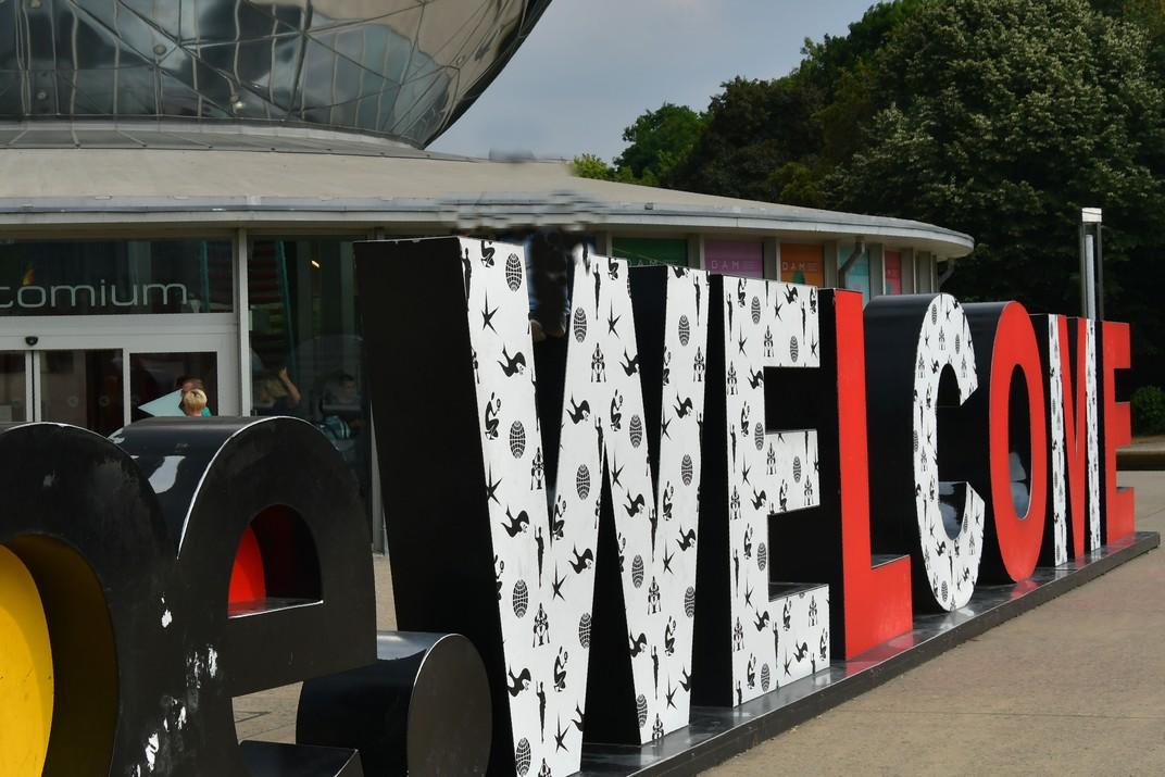 Benvinguda Atomium de Brussel·les