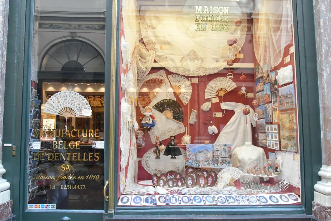 Botigues de les Galeries Reials Sant Hubert de Brussel·les