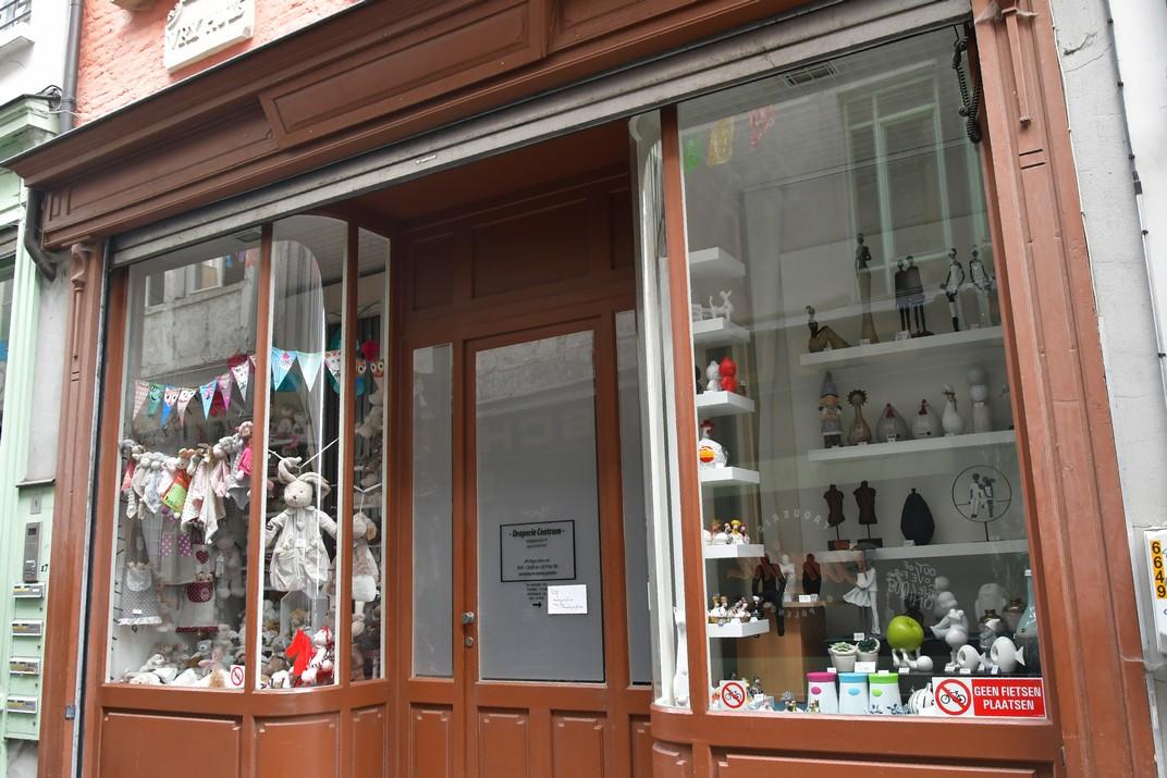 Botigues del carrer de Belfort de Gant