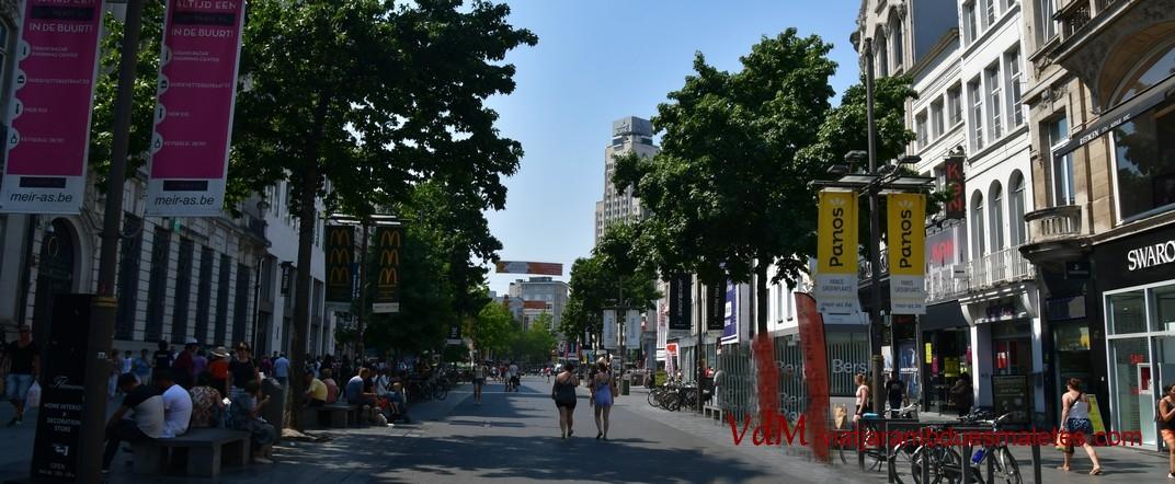 Bulevard del carrer Meir d'Anvers