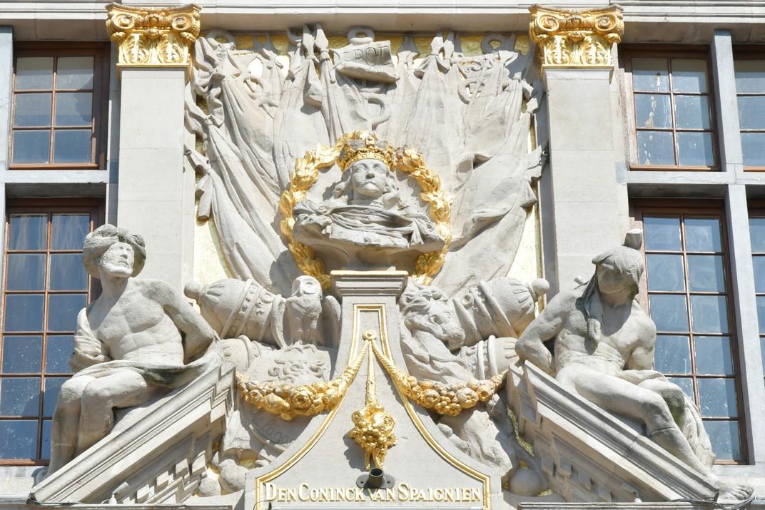 Bust del rei Carles II d'Espanya de la Gran Plaça de Brussel·les
