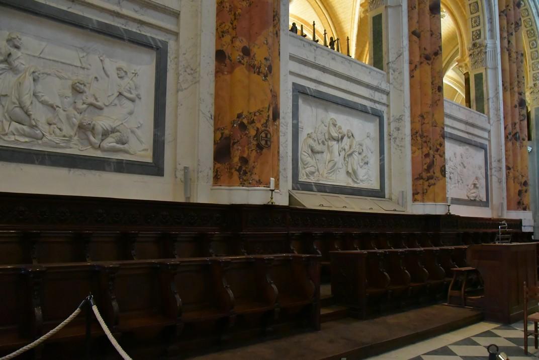 Cadirat del Cor de la Catedral de Chartres