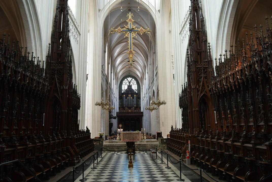 Cadirat del Cor de la Catedral de Nostra Senyora d'Anvers