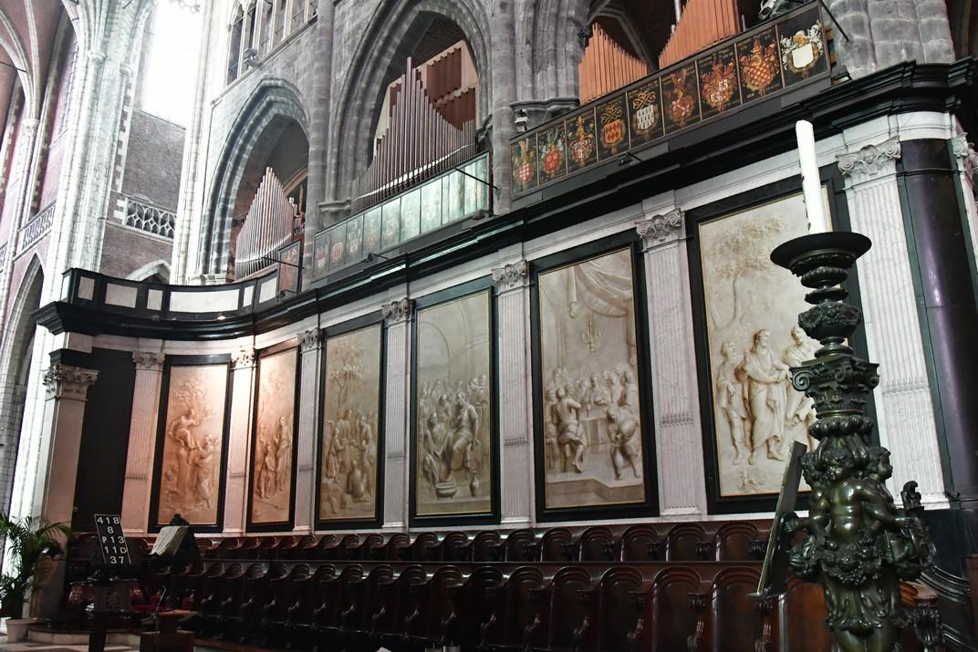 Cadirat del cor de la Catedral de Sant Bavó de Gant