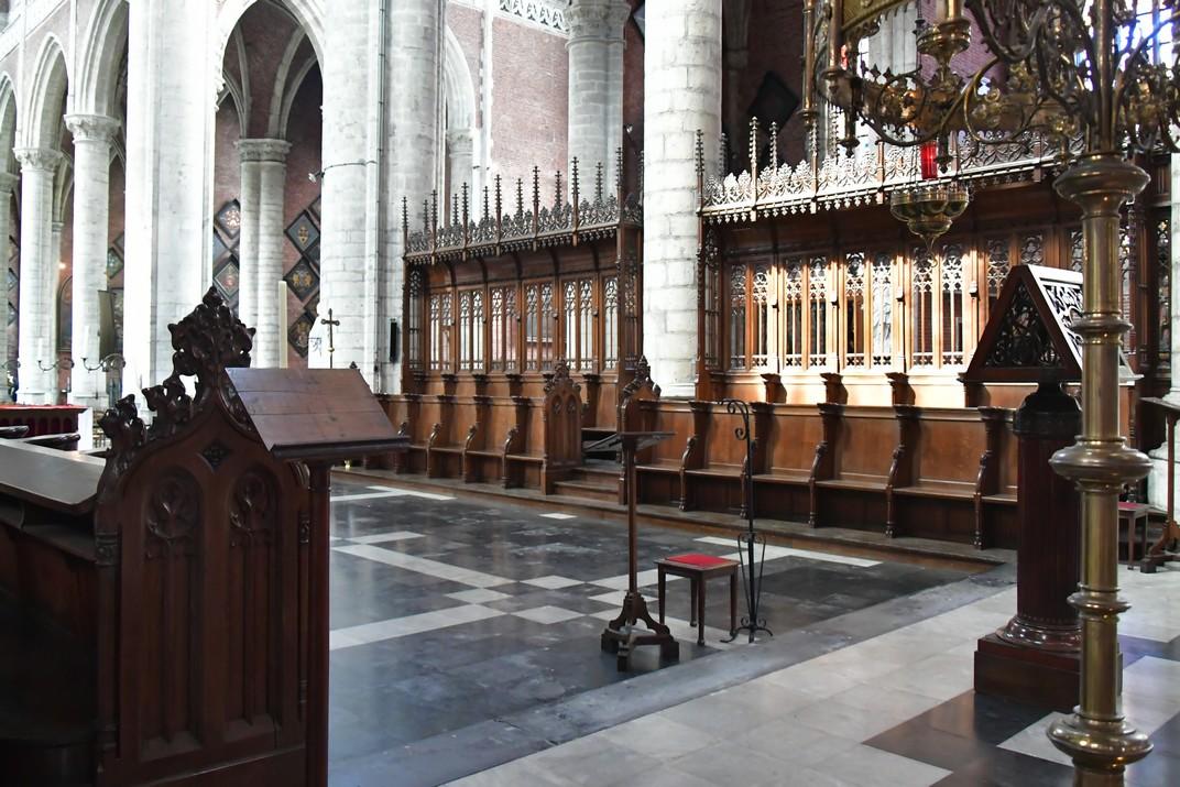 Cadirat del Cor de l'església de Sant Miquel de Gant