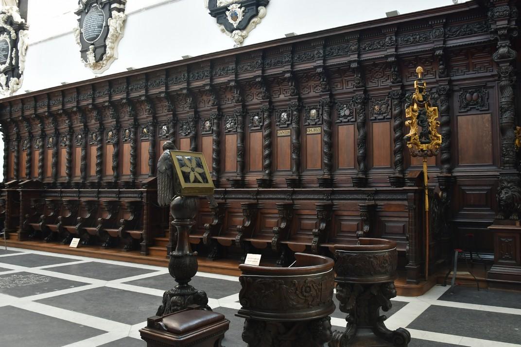 Cadirat del Cor de l'església de Sant Pau d'Anvers