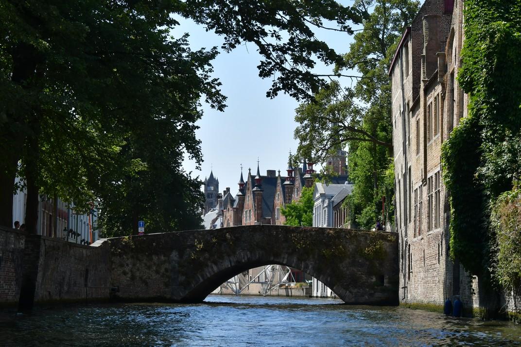 Canals i ponts de Bruges