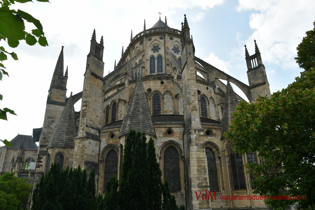 Capçalera de la Catedral de Bourges