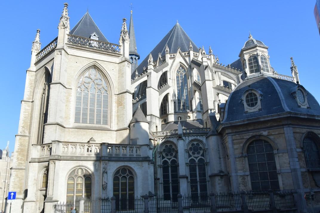 Capçalera de la Catedral de Brussel·les