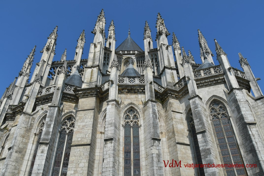 Capçalera de la Catedral d'Orleans