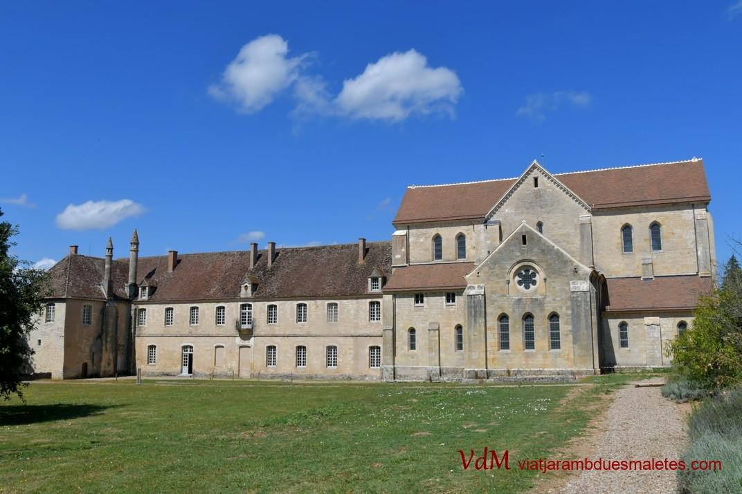 Capçalera de l'abadia de Noirlac