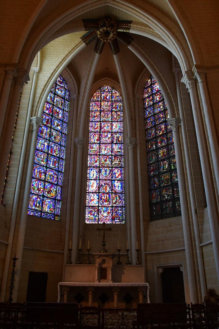 Capella axial de la Catedral de Chartres
