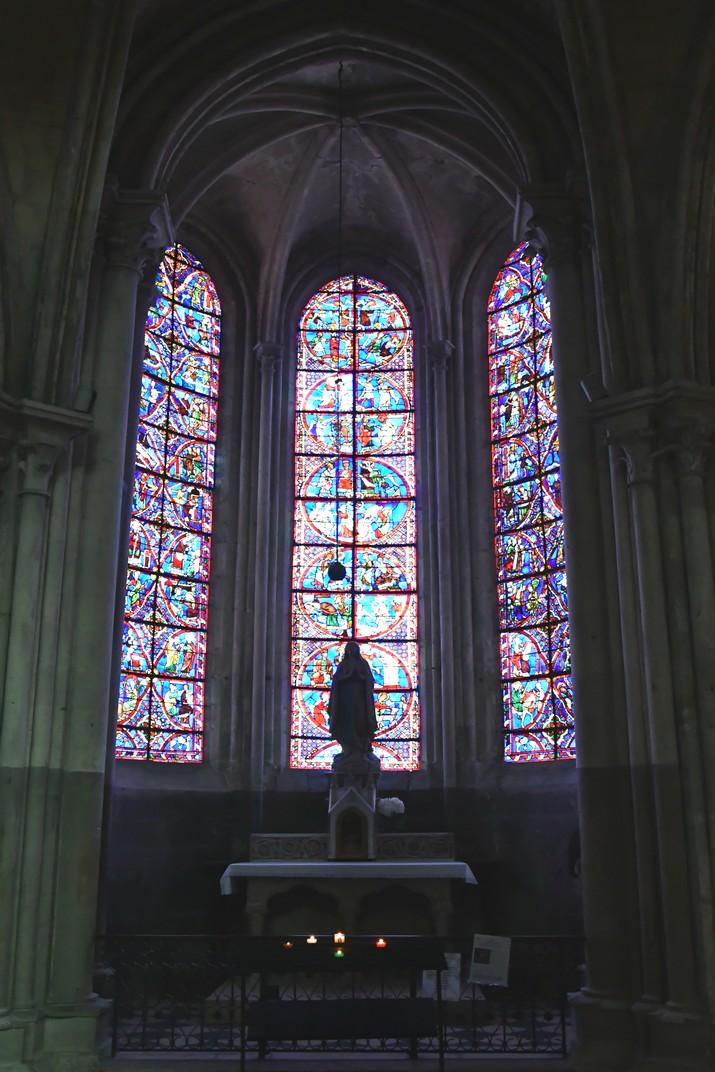 Capella de la girola de la Catedral de Bourges