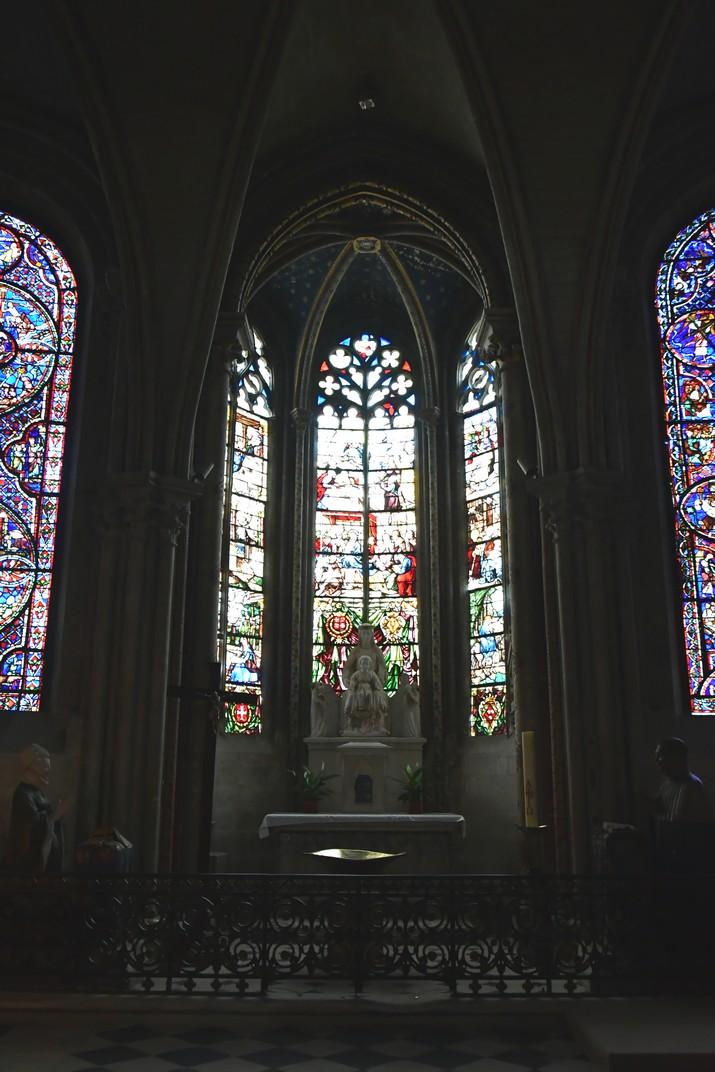 Capella de la Mare de Déu la Blanca de la Catedral de Bourges