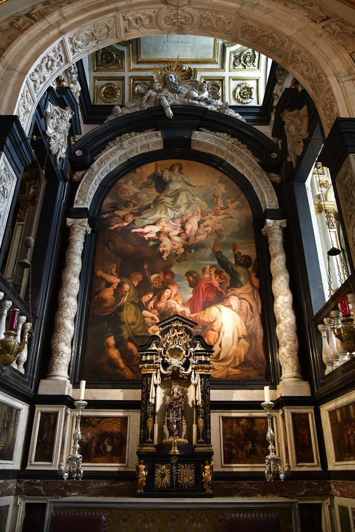Capella de la Verge de l'església de Sant Carles Borromeo d'Anvers