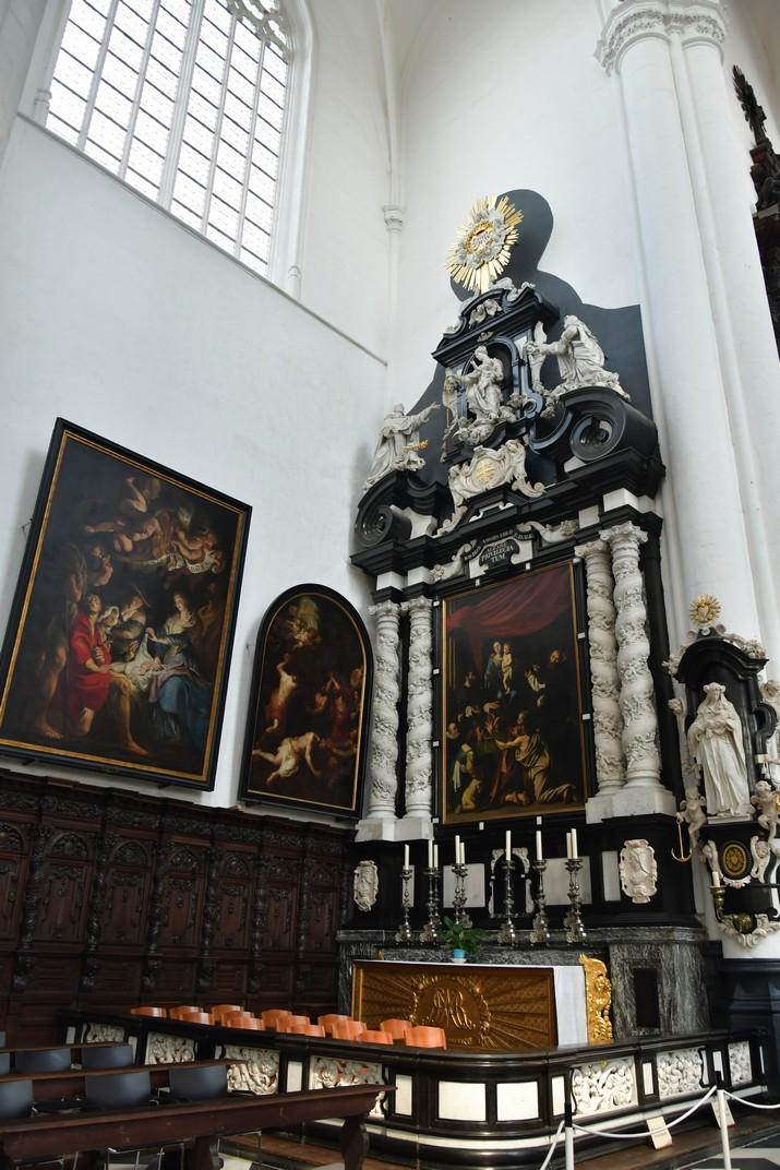 Capella de Maria de l'església de Sant Pau d'Anvers