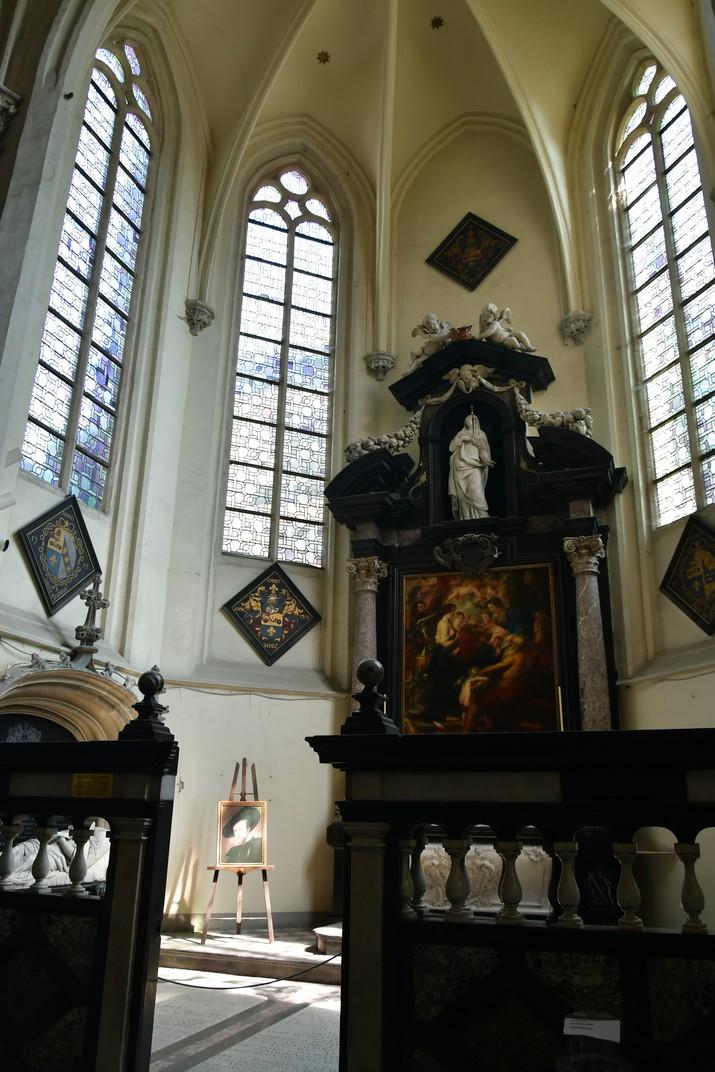 Capella de Rubens de l'església de Sant Jaume d'Anvers