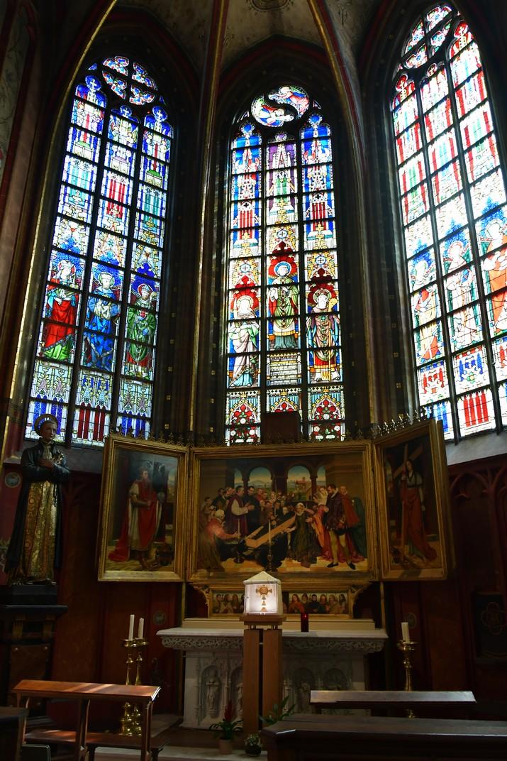 Capella de Sant Joan Berchsman de la Catedral de Nostra Senyora d'Anvers