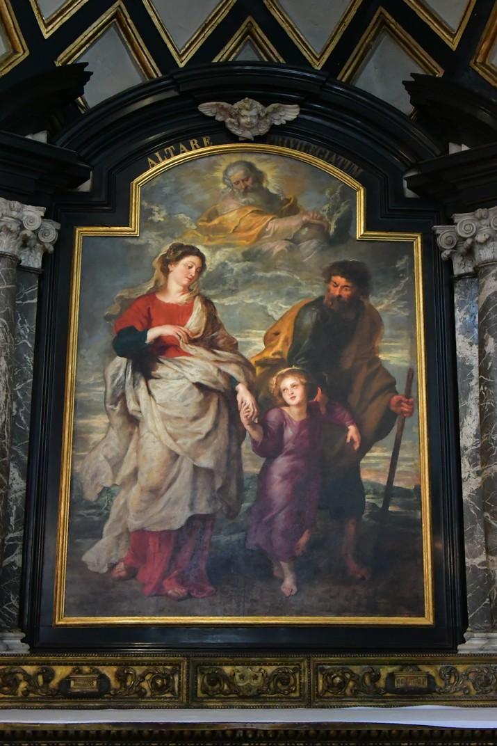 Capella de Sant Josep de l'església de Sant Carles Borromeo d'Anvers