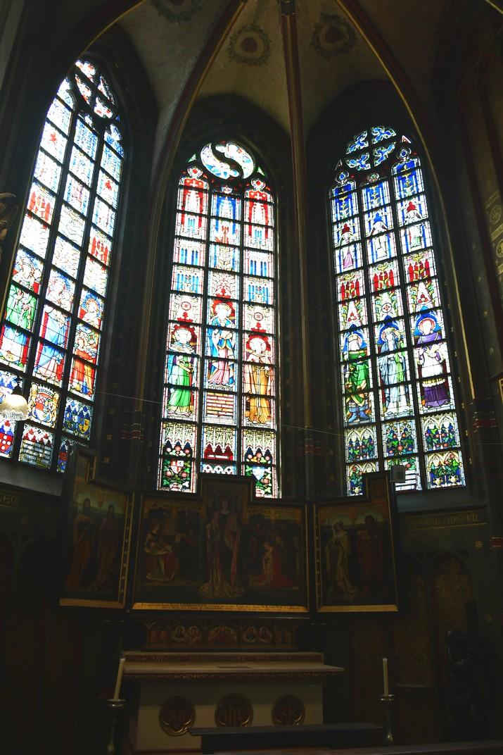 Capella de Santa Bàrbara de la Catedral de Nostra Senyora d'Anvers