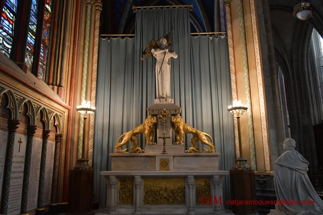 Capella de Santa Joana d'Arc de la Catedral d'Orleans