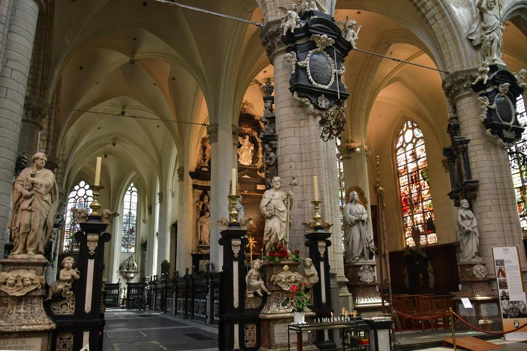Capella del Santíssim Sagrament de l'església de Sant Jaume d'Anvers