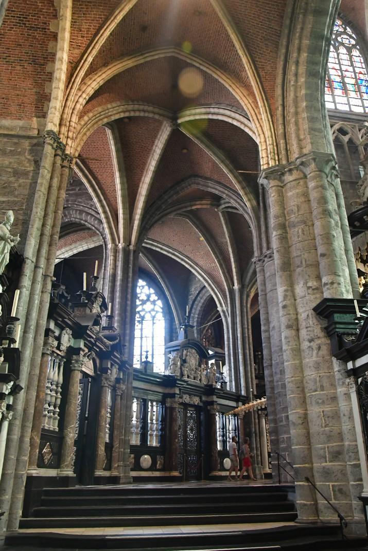 Capelles radiants del Deambulatori de la Catedral de Sant Bavó de Gant