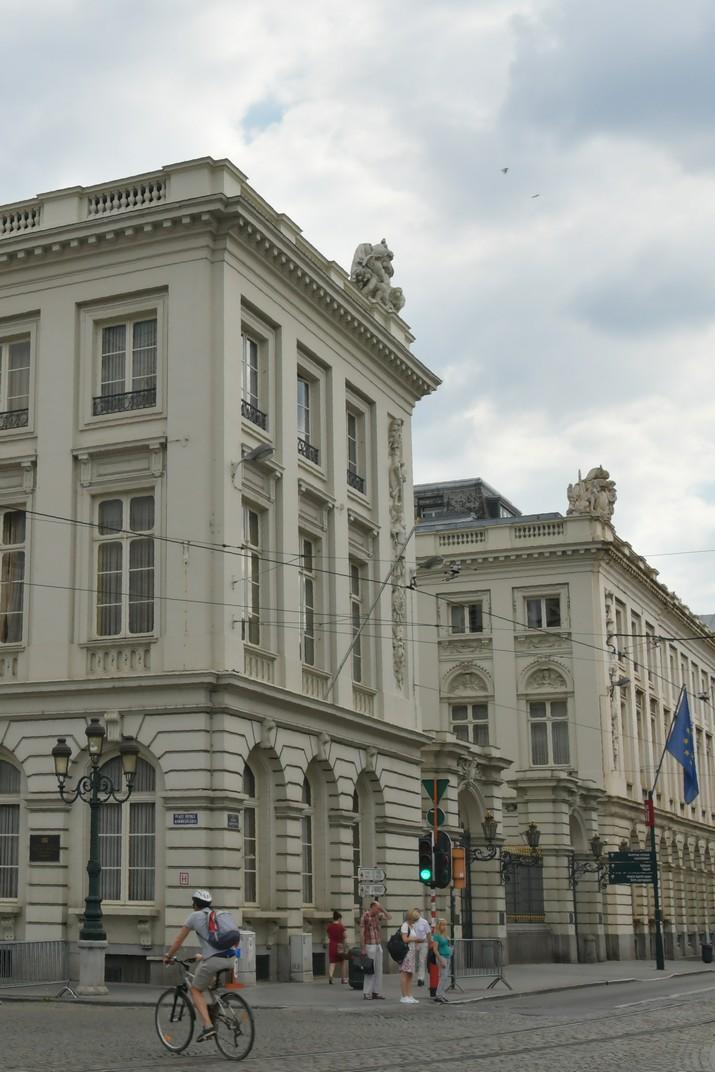 Carrer de la Regència de la Plaça Reial de Brussel·les