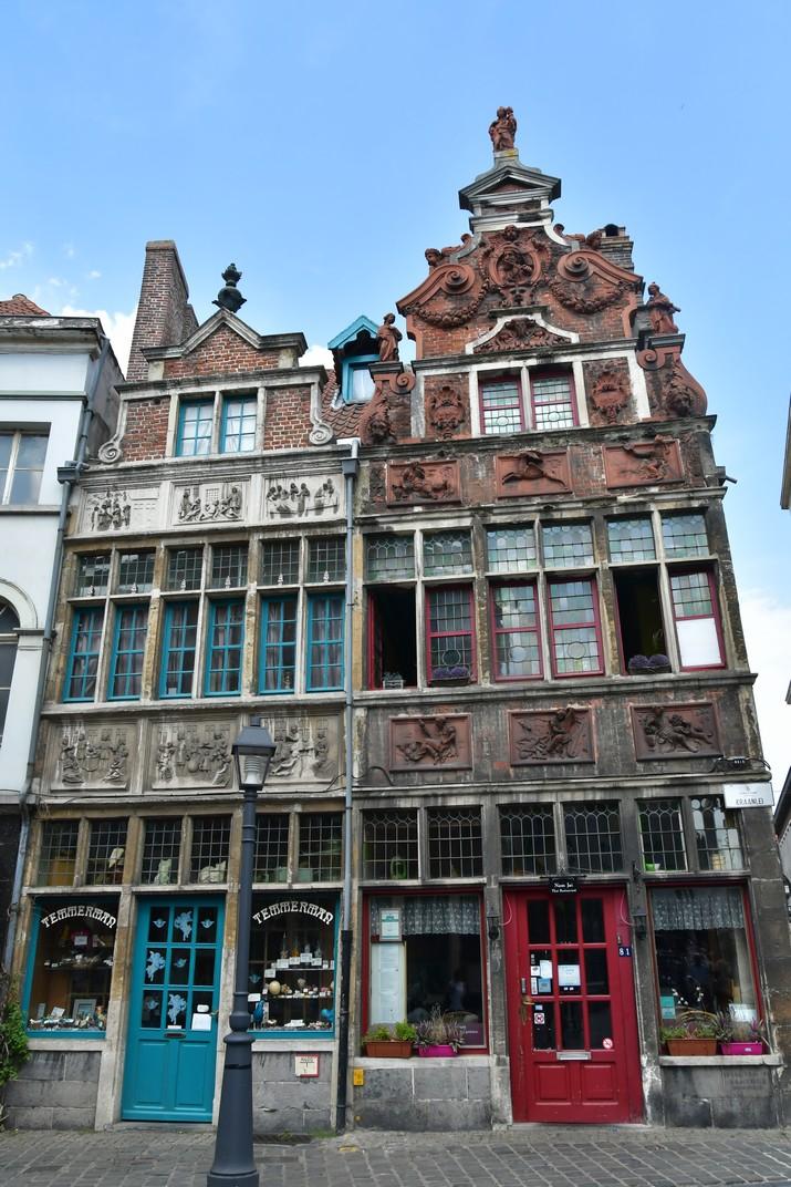 Casa de la Misericòrdia i el Flautista de Gant