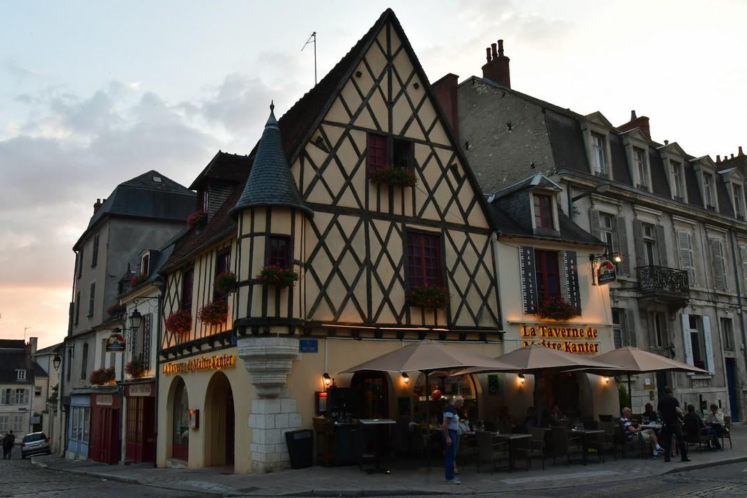 Casa Tournelle d'entramat de fusta de Bourges